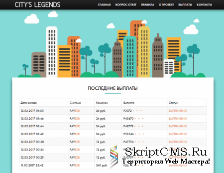 Скрипт удвоителя Citys Legends