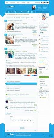LiveCoins - Блоговый шаблон для DLE 12.1