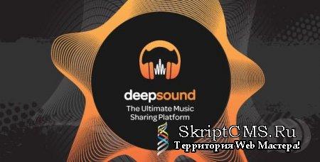 DeepSound v1.0.4 NULLED - платформа для обмена музыкой на PHP