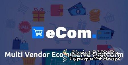 Ecom v1.0 NULLED - платформа электронной коммерции MultiVendor