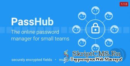 PassHub v1.1.0 - менеджер паролей